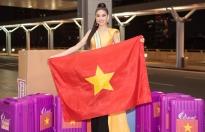 Để tạo ấn tượng tại 'Miss Grand International'  Ngọc Thảo mang gần 150kg sang xứ người