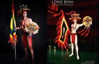Lý Cao Thiên Sơn gây ấn tượng với trang phục dân tộc tại 'Nam vương châu Á quốc tế 2018'