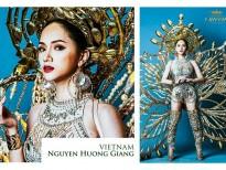 5 doi thu dang gom cua huong giang idol tai hoa hau chuyen gioi quoc te 2018