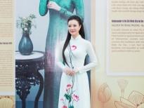 Người đẹp Trang Phương gây xao xuyến với vị trí vedette trong BST áo dài của NTK Ngô Nhật Huy