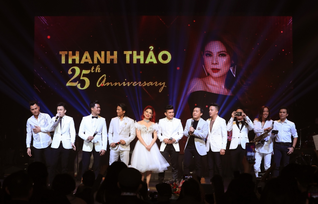liveshow thanh thao thanh cong vang doi tai my