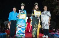 Diện trang phục của NTK Việt Hùng, Huất Thái Phương Thủy rạng rỡ trong đêm đăng quang 'Duyên dáng áo dài Việt Nam'