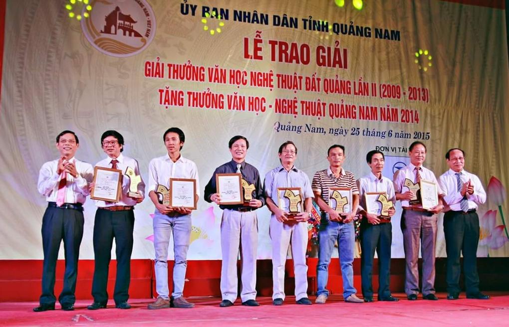 Công bố Giải thưởng Văn học - Nghệ thuật Đất Quảng lần thứ III (2014 - 2018)