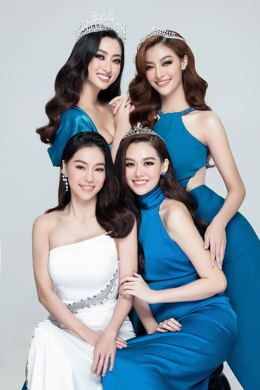 Lương Thùy Linh, Kiều Loan, Tường San đọ sắc vóc trong bộ ảnh khởi động 'Miss World Vietnam 2021'