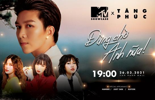 MTV Showcase tháng 3 'tăng nhiệt' với dàn lineup cực chất