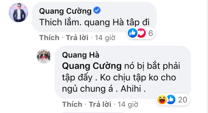 'Đùa cho vui', Quang Hà vô tình tiết lộ chuyện nhạy cảm của Lệ Quyên và Lâm Bảo Châu?
