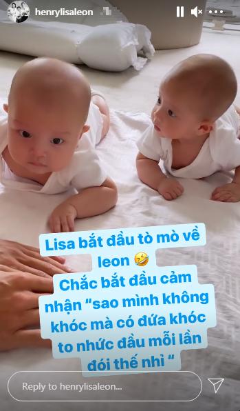 Một lần trả lời cho xong, Hà Hồ chính thức lên tiếng lý giải vì sao cặp sinh đôi Leon & Lisa không giống nhau