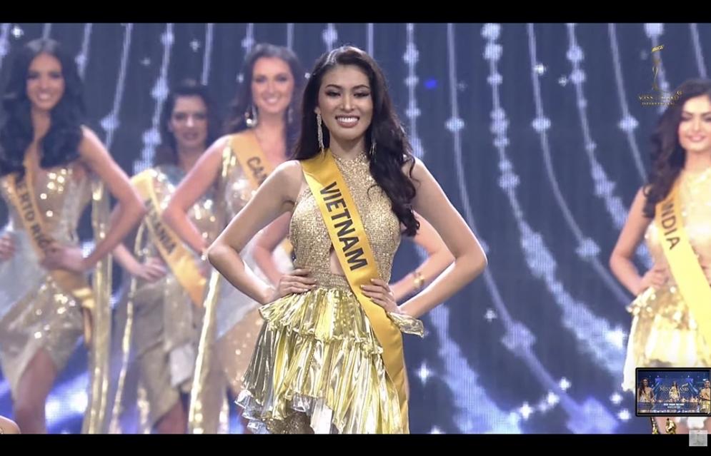 Xuất thần trong đêm bán kết, Ngọc Thảo dừng chân top 20 'Miss Grand International 2020'