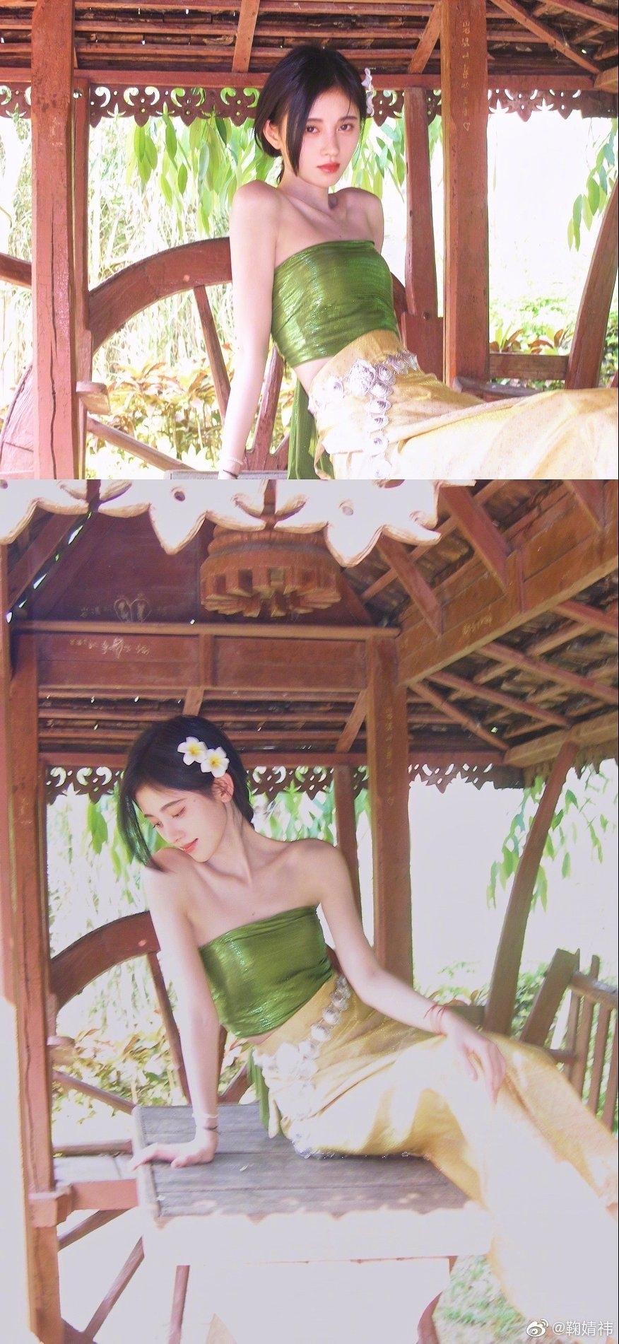 Cúc Tịnh Y 'gây bão' trong bộ ảnh mới giống hệt như gái Thái