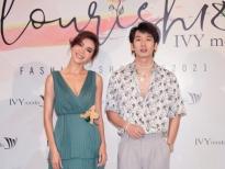 Minh Tú giữ khoảng cách khi chụp ảnh cùng Tuấn Trần