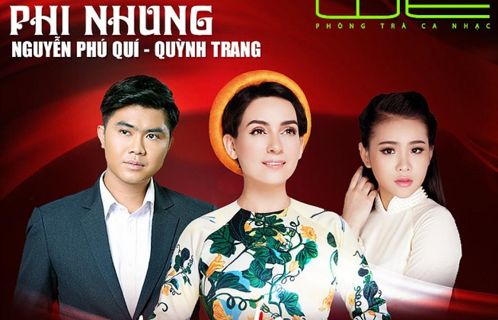 Phi Nhung cùng 'Thiên thần Bolero' Quỳnh Trang làm đêm nhạc phòng trà