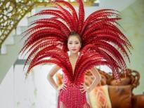 linh huynh cung dan hoa hau nam vuong dieu hanh duong pho carnaval dong hoi