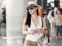 Diện style sân bay, Mai Thanh Hà đẹp không kém gì sao Hàn