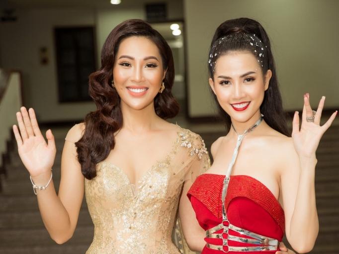 hoa hau phan thi mo do dang cung hoa khoi dieu ngoc tai chung ket fitness model 2019