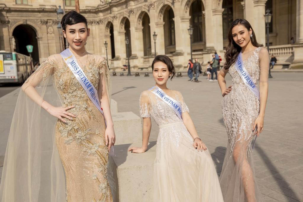 thi sinh hoa hau the gioi nguoi viet tai phap 2019 khoe nhan sac rang ro truoc them chung ket