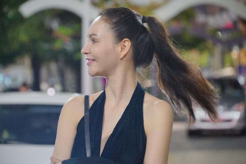 quan quan jessica amornkuldilok da co mat tai viet nam de tham du the coco fashion show 2019