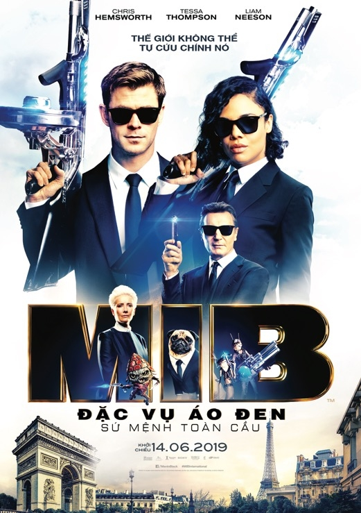 chris hemsworth quay tung man anh rong trong trailer moi nhat cua men in black international