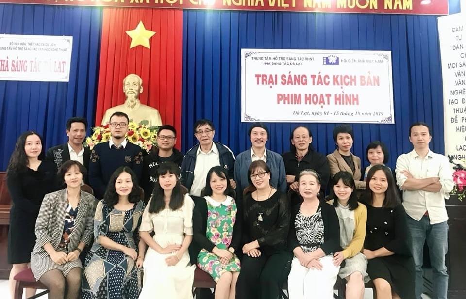 mo trai sang tac kich ban phim hoat hinh tai vinh phuc thang 92020