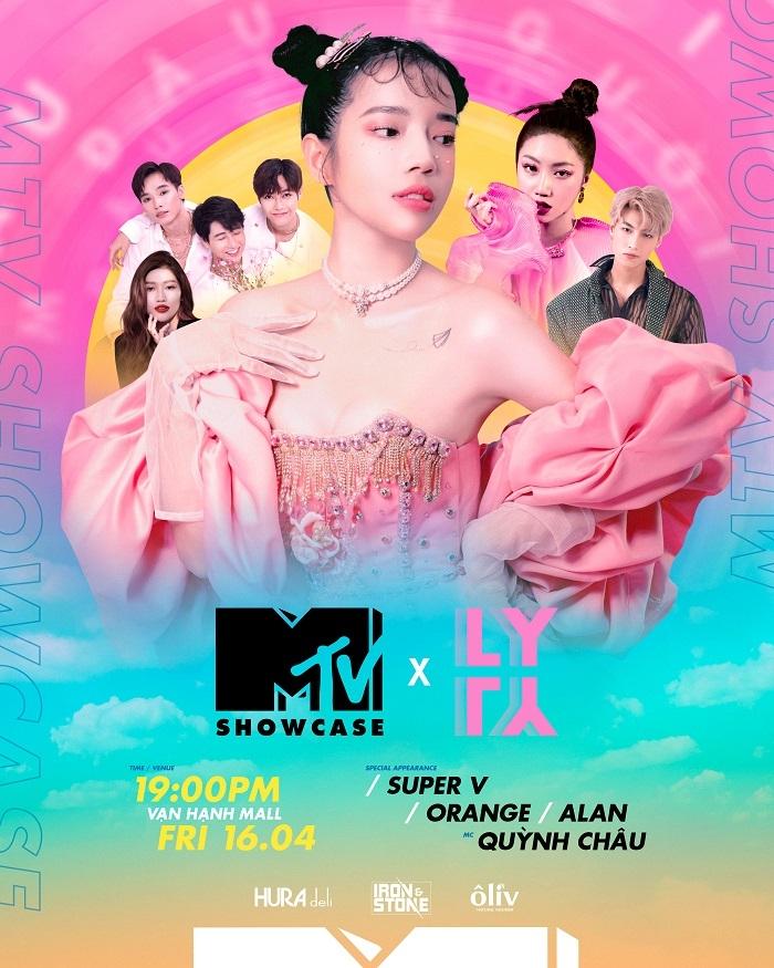 Lyly mang 6 bản 'siêu hit' của mình đến 'MTV Showcase'