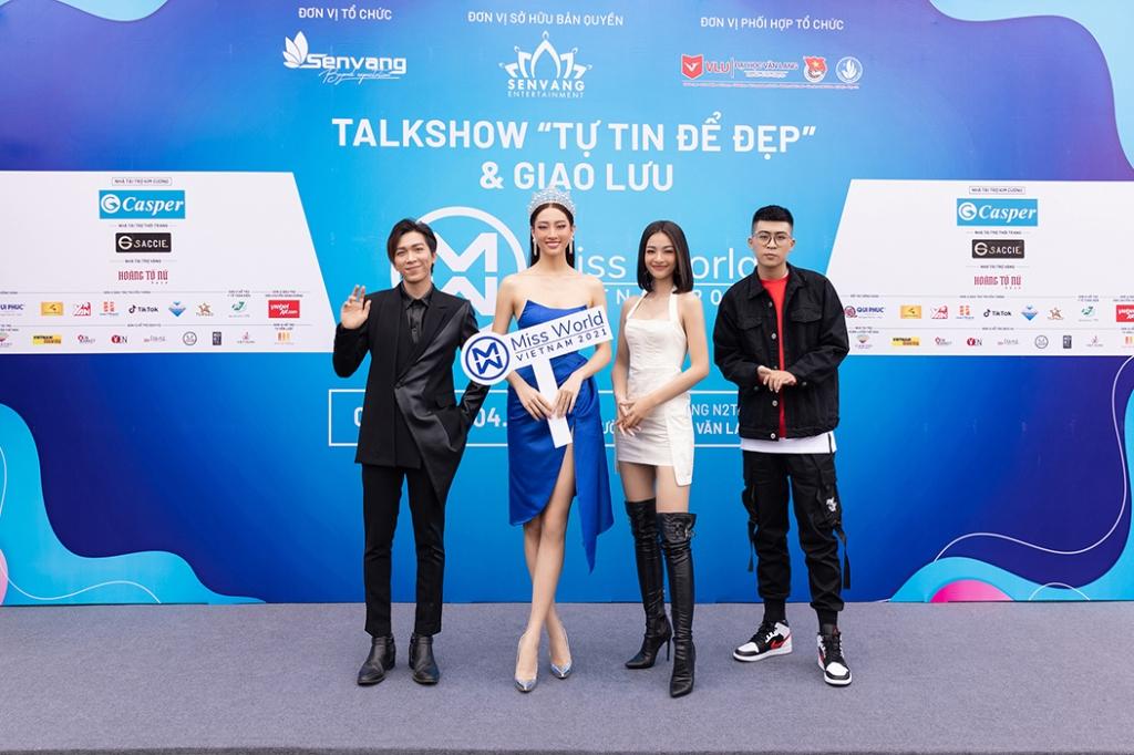 'Tự tin để đẹp' talkshow giao lưu cùng Lương Thuỳ Linh, Lona Kiều Loan, Tiểu Vy truyền cảm hứng cho hàng nghìn sinh viên Đại Học