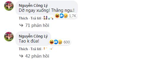 NSND Công Lý 'giận tím người' quát tháo Việt Anh thậm tệ khi nam diễn viên lỡ đăng ảnh 'bậy'