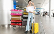 Hoa hậu H'Hen Niê giải thích về 7 chiếc vali cho chuyến khám phá New Zealand