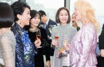 Hoa hậu Hải Dương tham dự sự kiện cùng nhiều phu nhân quan chức Hàn Quốc