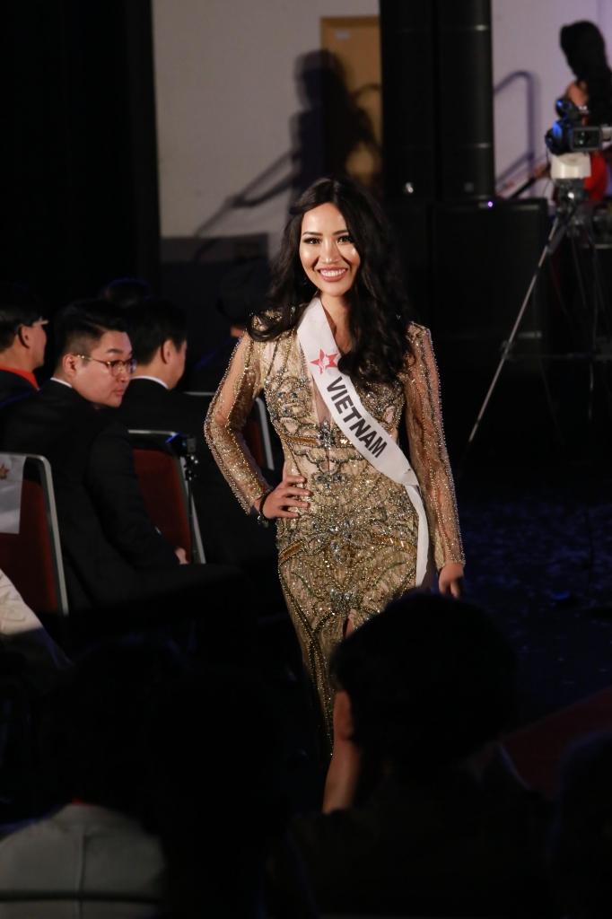 a hau kiko chan giong ca hay nhat tai miss super talent 2018 la phan thuong cho su no luc cua toi