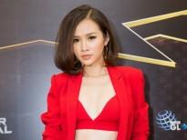 Á hậu Thanh Trang tái xuất với bộ vest cá tính khoe vòng eo gợi cảm