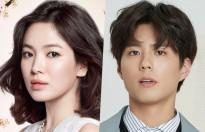 park bo gum sanh vai chi dau song hye kyo trong phim truyen hinh moi