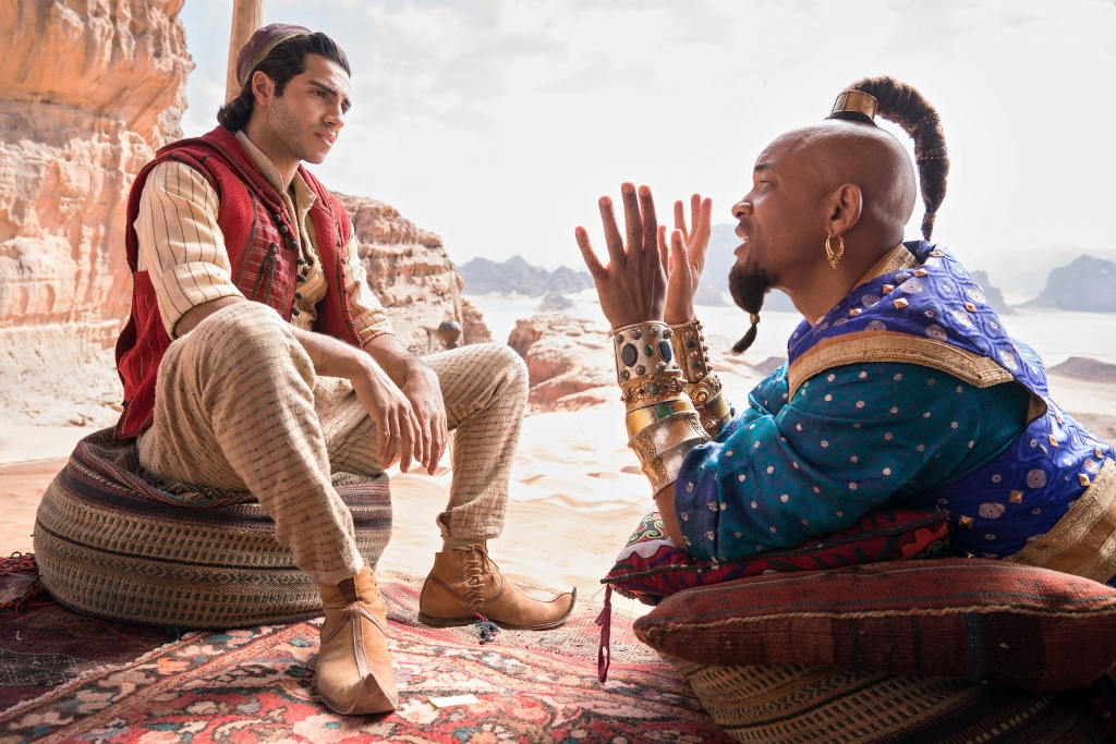 will smith vua mung vua lo khi la vi than moi trong aladdin
