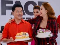 host nam trung don sinh nhat bat ngo tai truong quay the face 2018