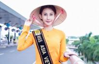 chi nguyen mang ao dai va hinh anh chim khong tuoc den hoa hau chau a the gioi 2018