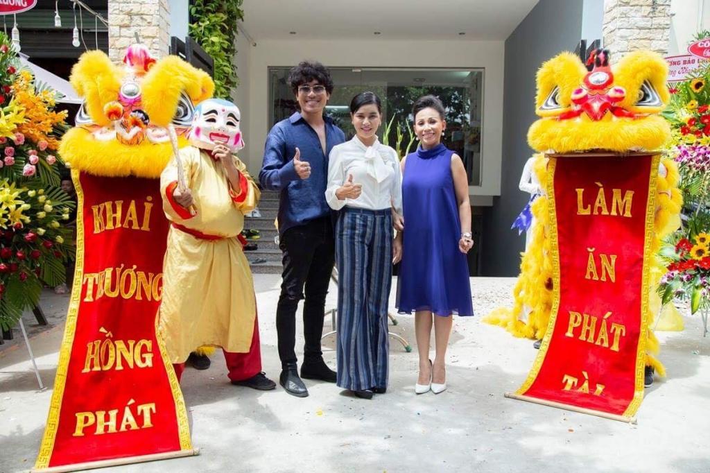 ba bau cat phuong lan san sang linh vuc cham soc nhan sac
