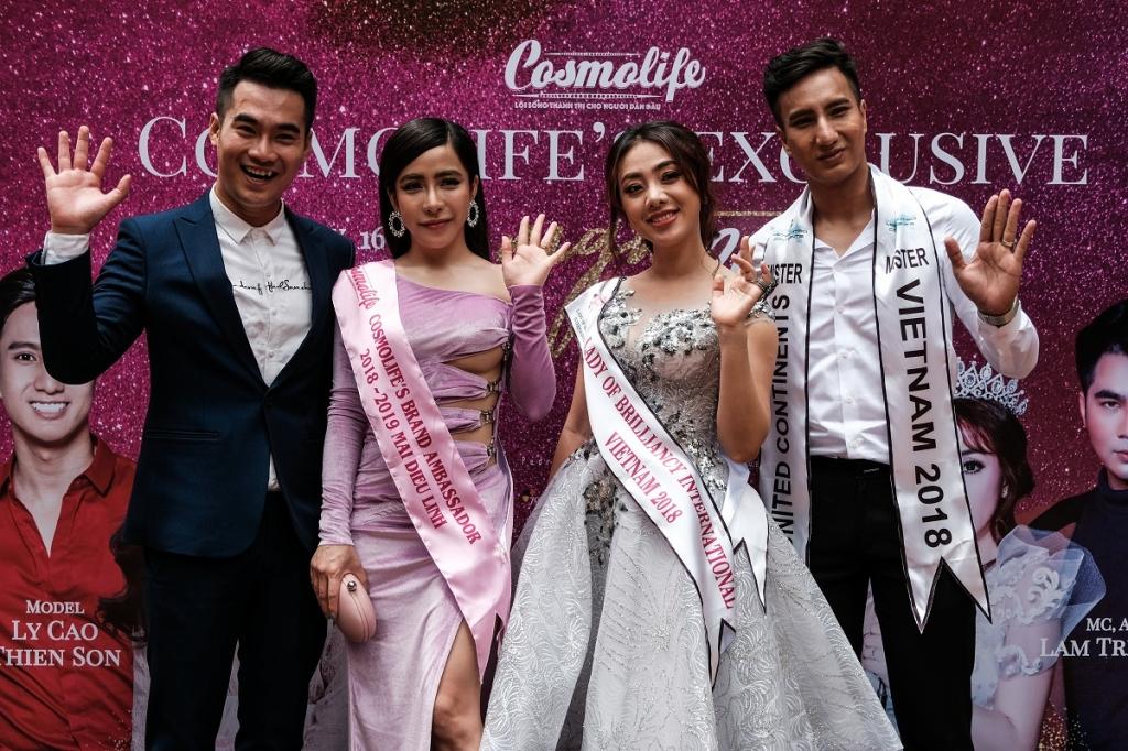 no luc voi du an miss v pop miko lan trinh tham du hoa ti sac dep quoc te 2018