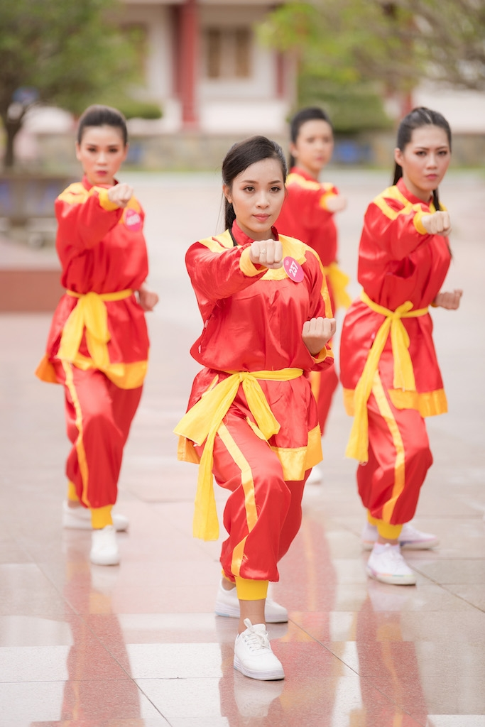 top 30 thi sinh chung khao phia nam hoa hau viet nam hoa nu vo si tay son binh dinh