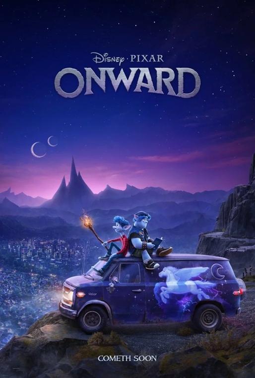 disney pixar tung trailer dau tien cua onward he lo the gioi yeu tinh day sac mau