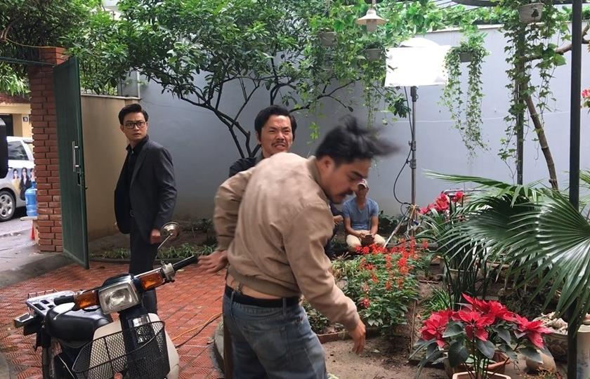Hậu trường 'Về nhà đi con' tập 41: Bật mí về cú tát trời giáng của ông Sơn dành cho con rể