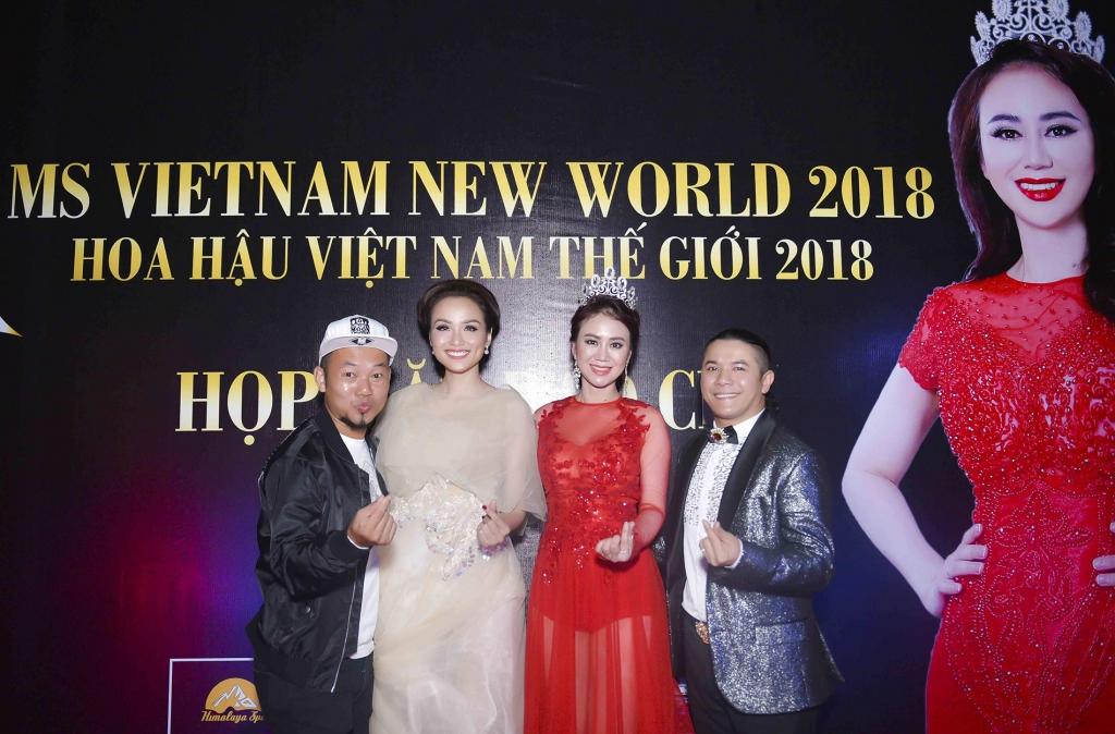 sao viet xung xinh vay ao mung hoa hau my van ra mat ms vietnam new world mua thu 2