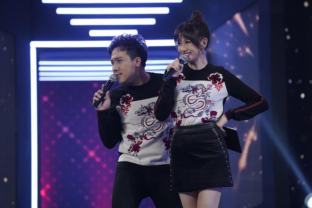 vo chong tran thanh hari won lan dau lam mc chung