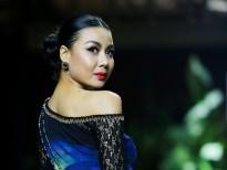 Lại Thanh Hương cùng bạn trai Vũ Mạnh Hiệp 'lạnh lùng' trên sàn diễn