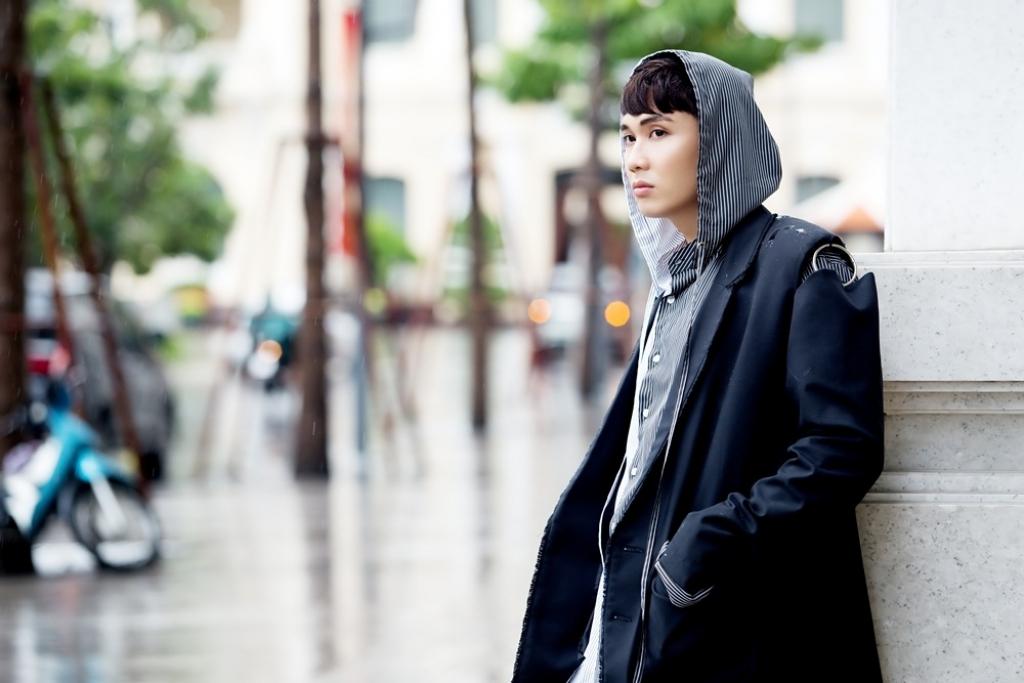 hotboy the voice dao tin ke cau chuyen tinh yeu cua chinh minh qua ca khuc hat mua van roi