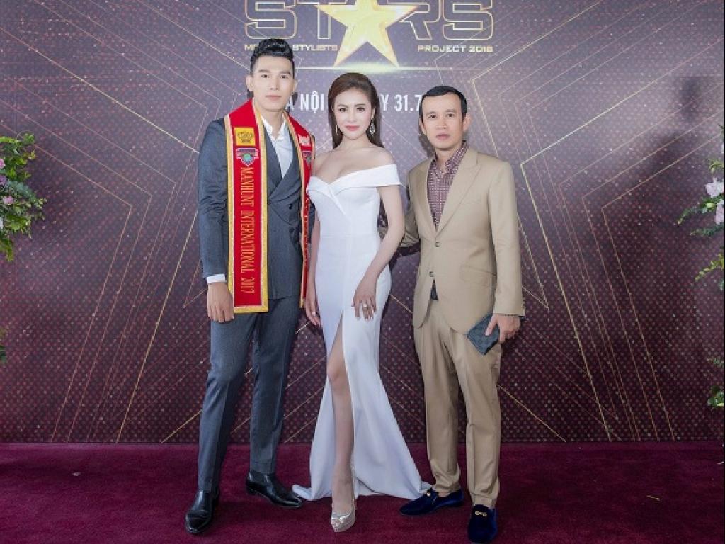 Thư Dung gợi cảm, khoe nhan sắc xinh đẹp bên siêu mẫu Ngọc Tình tại sự kiện