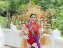 Choáng ngợp với quốc phục đa sắc màu của dàn người đẹp 'Hoa hậu đại sứ du lịch thế giới 2018'