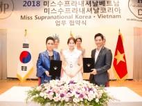Doanh nhân, Hoa hậu Hải Dương bất ngờ ký kết tổ chức 3 cuộc thi Hoa hậu lớn nhất Hàn Quốc