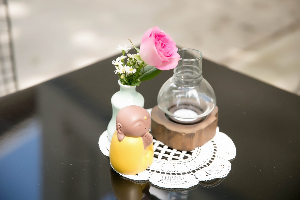 cafe rose chon thu gian cua ly nha ky