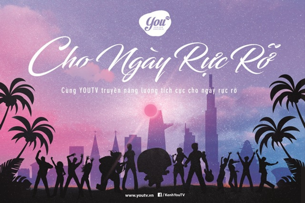 youtv phat dong chien dich cho ngay ruc ro
