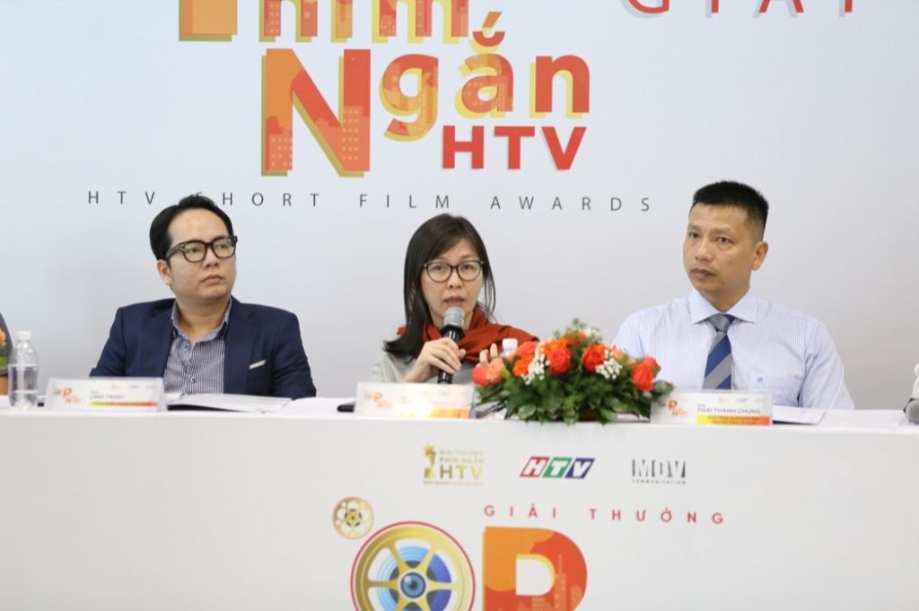 lo dien day du ban giam khao giai thuong phim ngan htv 2018