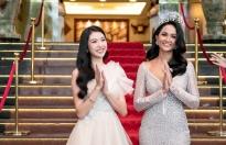 Hoa hậu H'Hen Niê và Á hậu Thúy Vân về Đắk Lắk khởi động chương trình 'Brave tour' cho Hoa hậu hoàn vũ