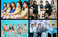 bts blackpink va red velvet gianh giai thuong tai teen choice awards 2019
